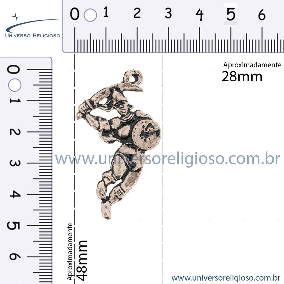 Obá - Cobre Velho - 48mm  - Universo Religioso® - Artigos de Umbanda e Candomblé