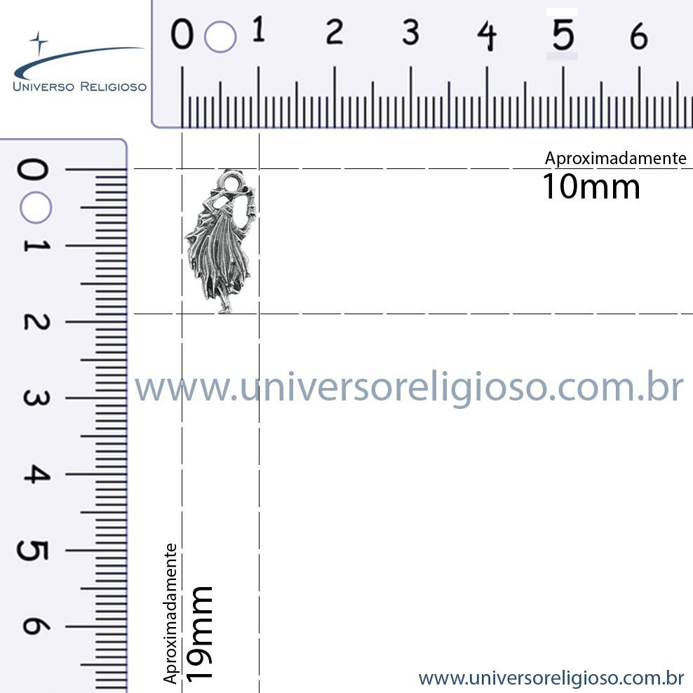 Omulu - Níquel Velho - 19mm  - Universo Religioso® - Artigos de Umbanda e Candomblé