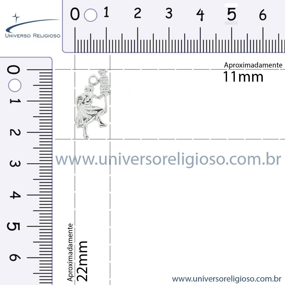 Oxalá - Níquel - 22mm  - Universo Religioso® - Artigos de Umbanda e Candomblé