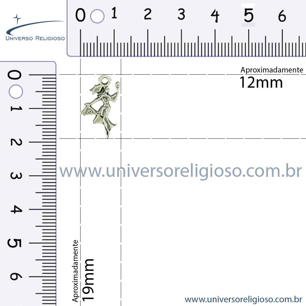 Oxum - Latão Velho - 19mm  - Universo Religioso® - Artigos de Umbanda e Candomblé