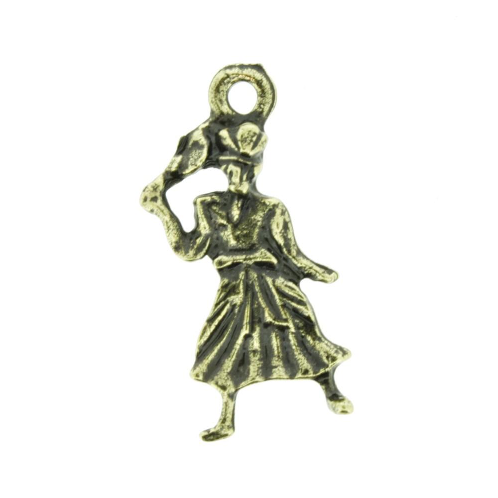 Oxum - Ouro Velho - 26mm  - Universo Religioso® - Artigos de Umbanda e Candomblé