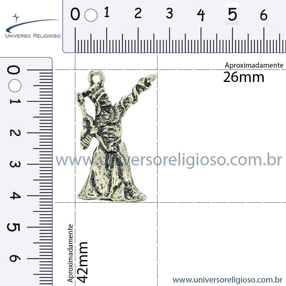 Oxumaré - Latão Velho - 42mm  - Universo Religioso® - Artigos de Umbanda e Candomblé