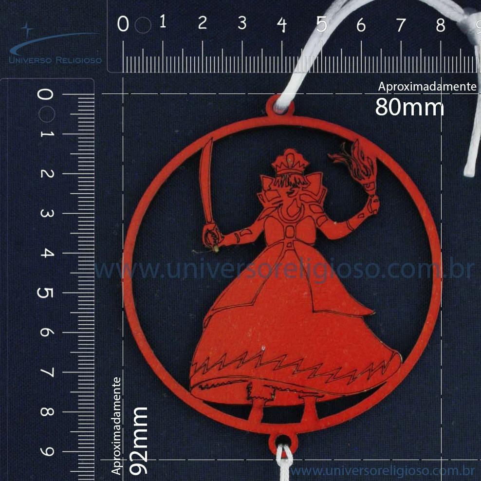 Pêndulo de Madeira - Iansã  - Universo Religioso® - Artigos de Umbanda e Candomblé