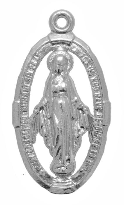 Pingente - Metal - Nossa Senhora de Fátima - Níquel - 4,2cm - 05 Peças  - Universo Religioso® - Artigos de Umbanda e Candomblé