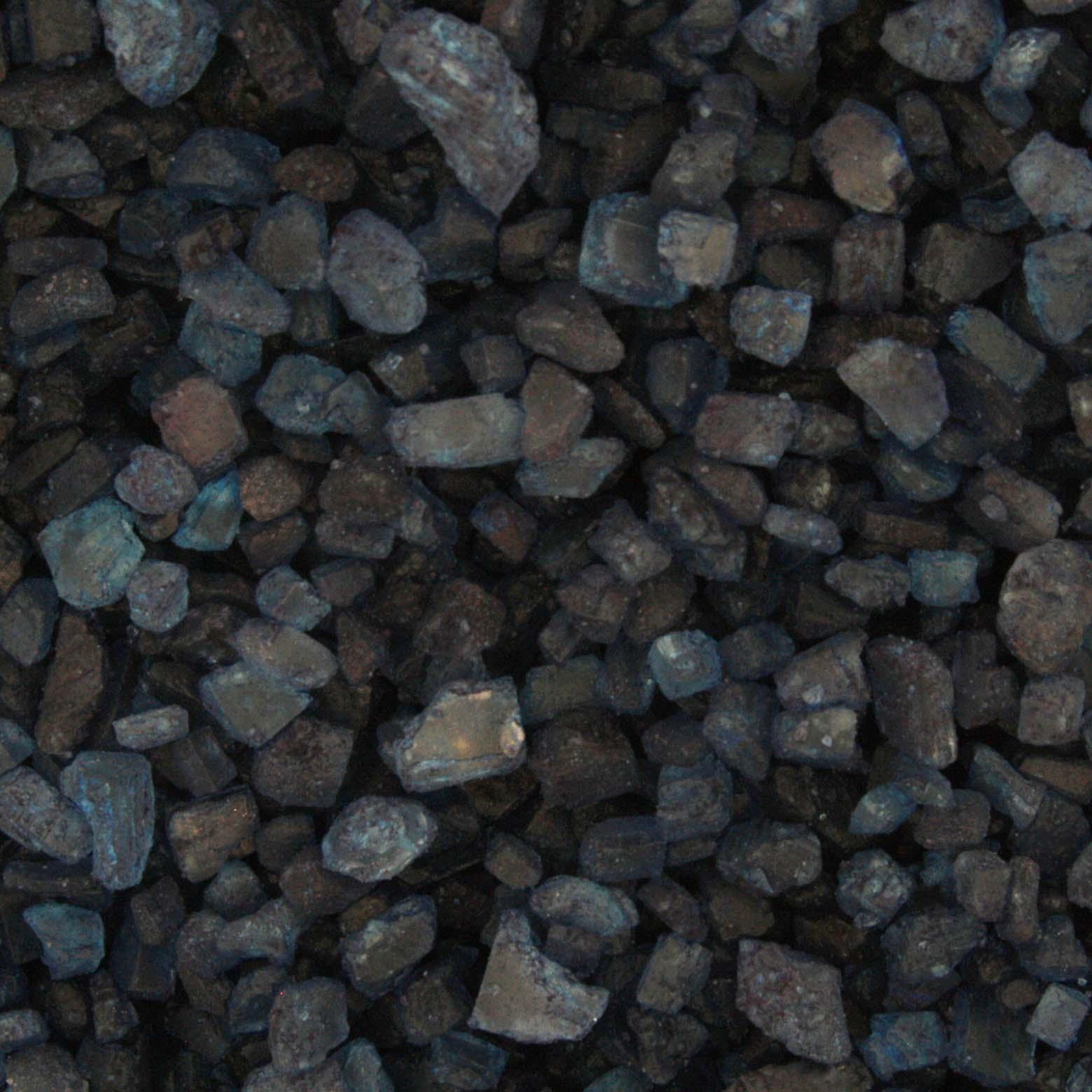 Sal Grosso - Azul Escuro - 100g  - Universo Religioso® - Artigos de Umbanda e Candomblé