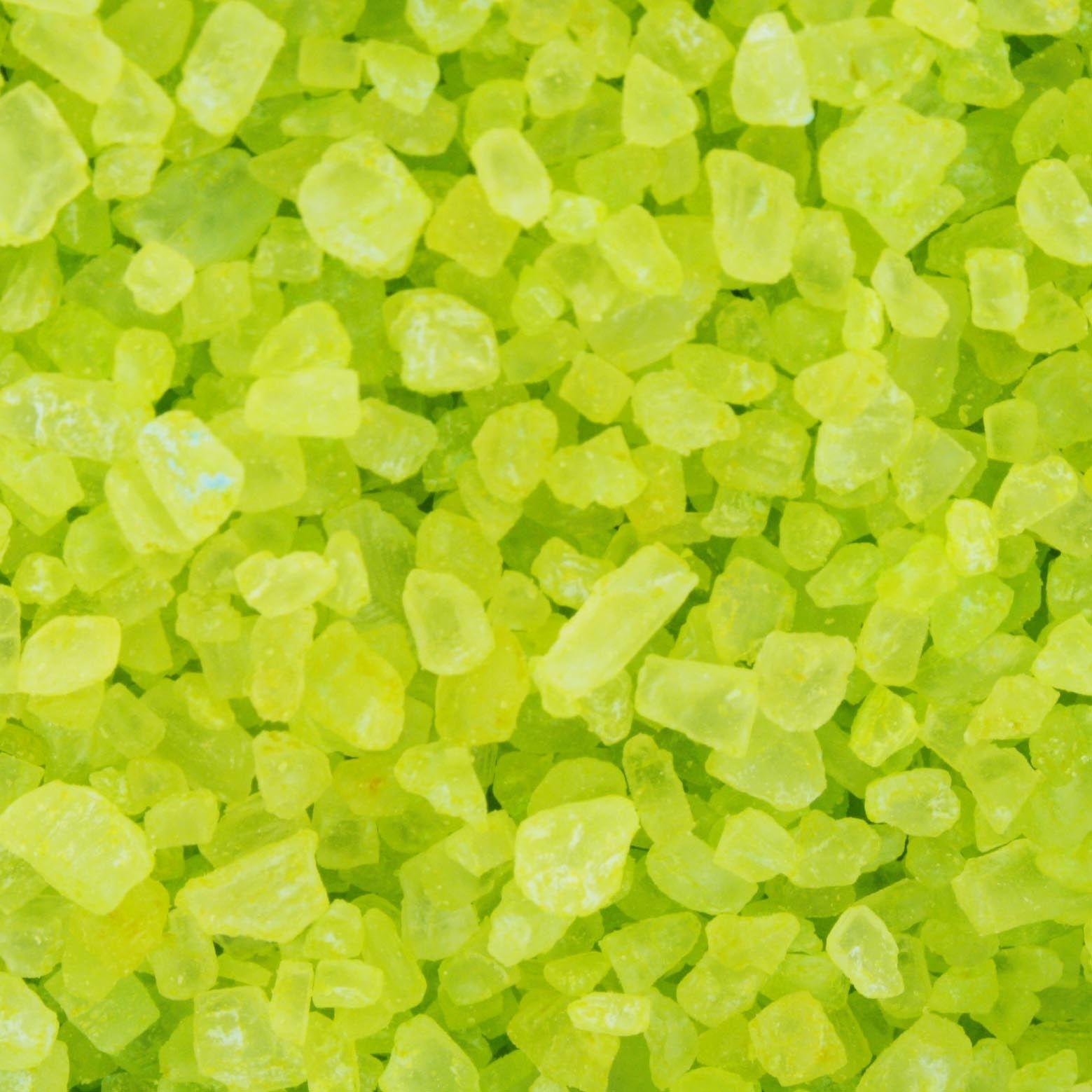 Sal Grosso - Verde Claro - 100g  - Universo Religioso® - Artigos de Umbanda e Candomblé