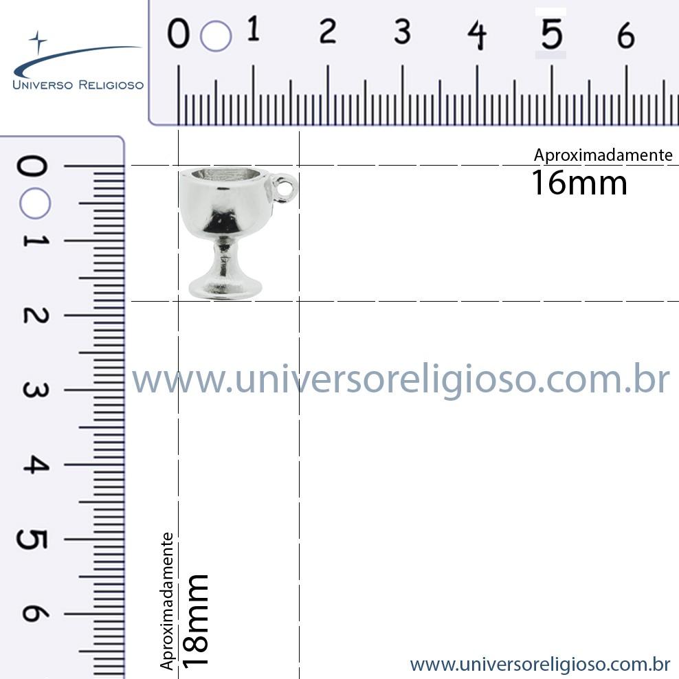 Taça - Níquel - 18mm  - Universo Religioso® - Artigos de Umbanda e Candomblé