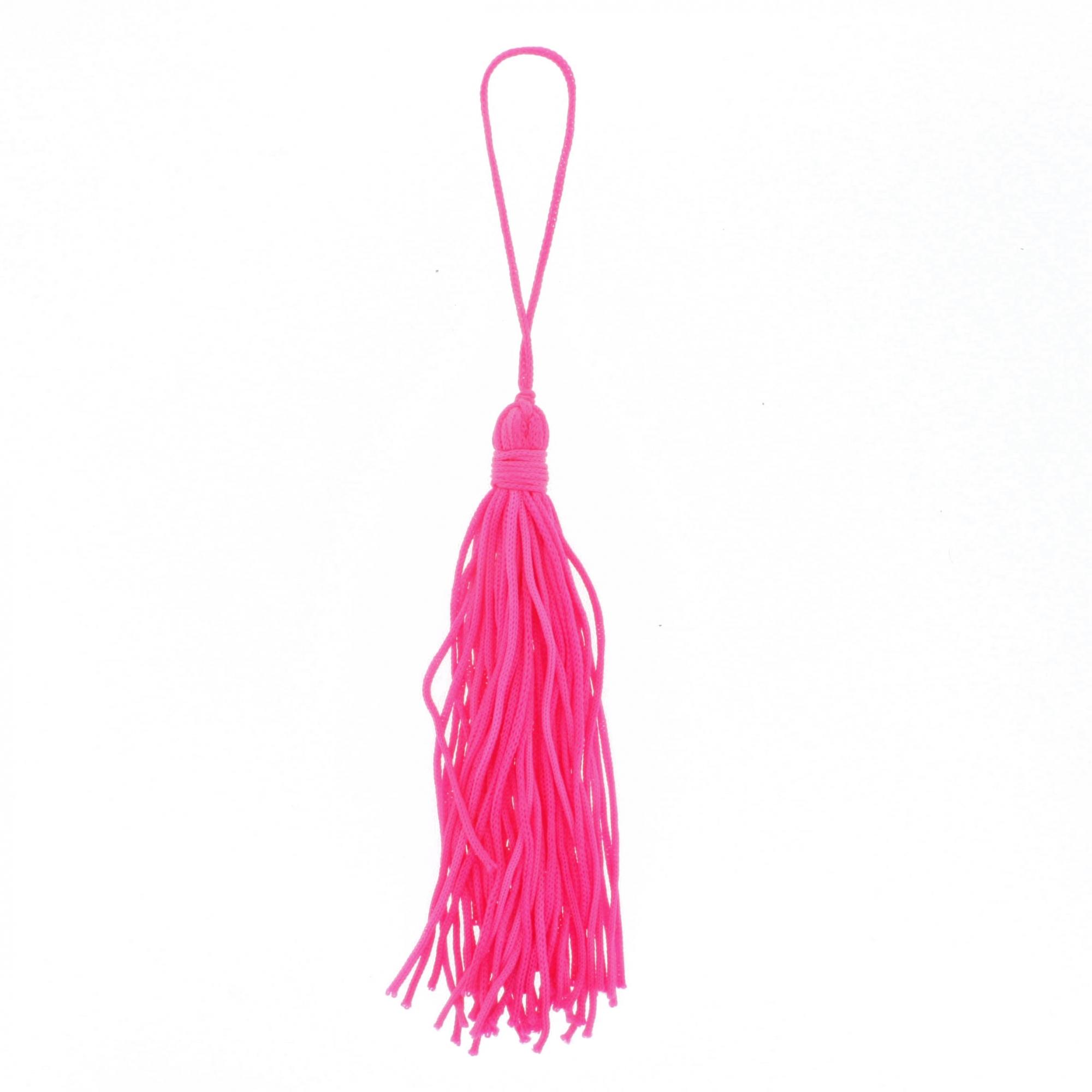 Tassel - Pink Neon  - Universo Religioso® - Artigos de Umbanda e Candomblé