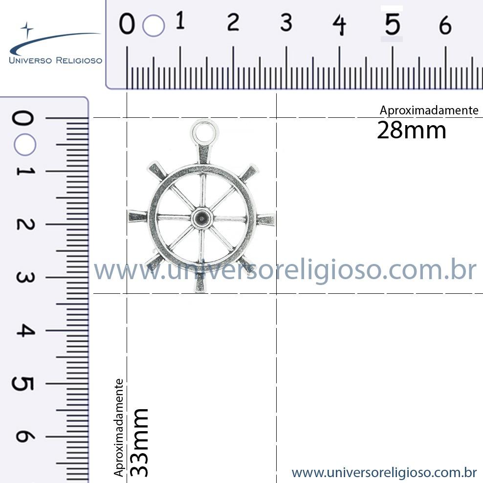 Timão - Níquel - 33mm  - Universo Religioso® - Artigos de Umbanda e Candomblé