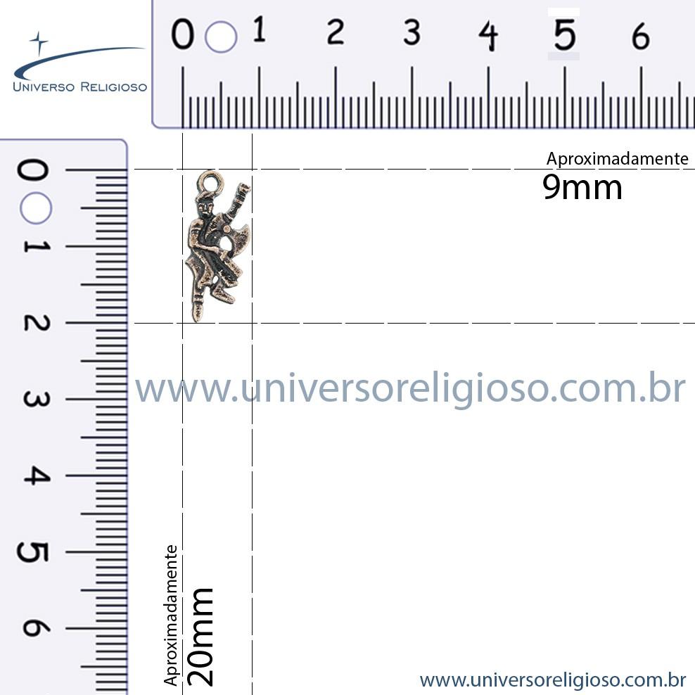 Xangô - Cobre Velho - 20mm  - Universo Religioso® - Artigos de Umbanda e Candomblé