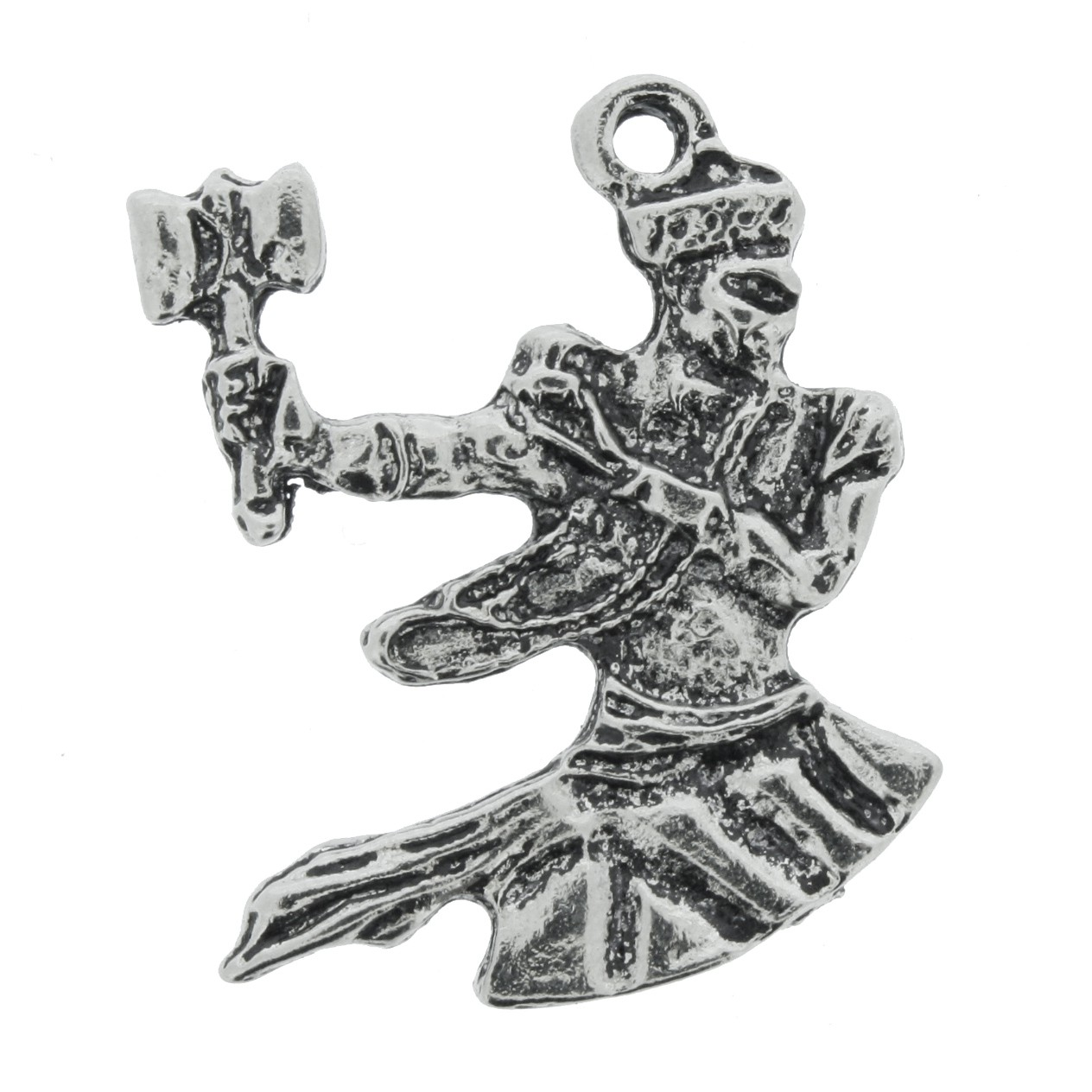 Xangô - Níquel Velho - 30mm  - Universo Religioso® - Artigos de Umbanda e Candomblé