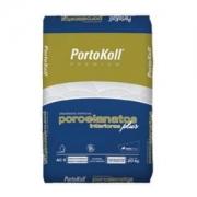 Argamassa  Porcelanato Interiores Plus 20Kg Portokoll