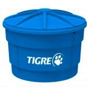 Caixa D'Água de Polietileno Azul Tigre