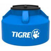 Caixa D'Água de Polietileno Fechada Azul Tigre