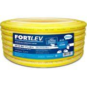 Conduíte Amarelo Corrugado Fortlev