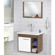 Kit Toucador + Espelho 60cm Florence Várias Cores MM