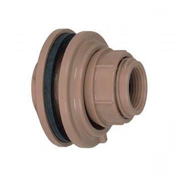 Adaptador com Anel Marrom PVC Soldável Amanco  - Comercial Tuan Materiais para Construção