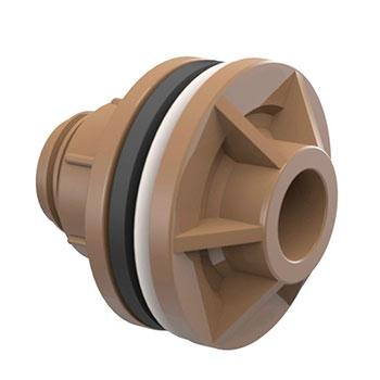Adaptador com Anel Marrom PVC Soldável Tigre  - Comercial Tuan Materiais para Construção