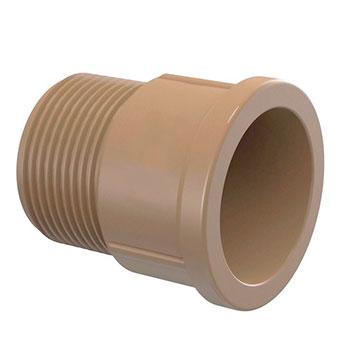 Adaptador Marrom PVC Roscável e Soldável Amanco  - Comercial Tuan Materiais para Construção