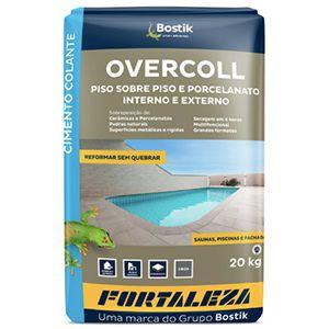 Argamassa Cinza Piso sobre Piso 20kg Overcoll Fortaleza  - Comercial Tuan Materiais para Construção