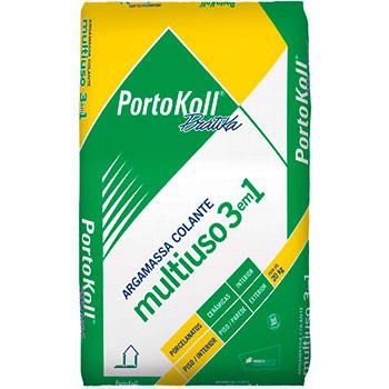 Argamassa Colante Interno 3 em 1 Portokoll  - Comercial Tuan Materiais para Construção