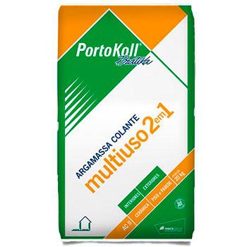 Argamassa  Colante Multiuso Externa 2 em 1 Portokoll  - Comercial Tuan Materiais para Construção