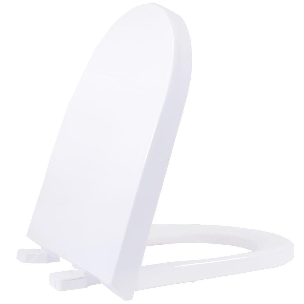 Assento em Polipropileno para as Louças Carrara/ Link Branco Soft Close  - Comercial Tuan Materiais para Construção