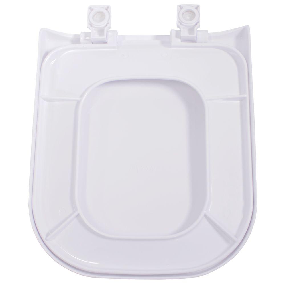 Assento em Polipropileno para as Louças Debba/Gap/Quadra/Polo/Unic Branca  - Comercial Tuan Materiais para Construção