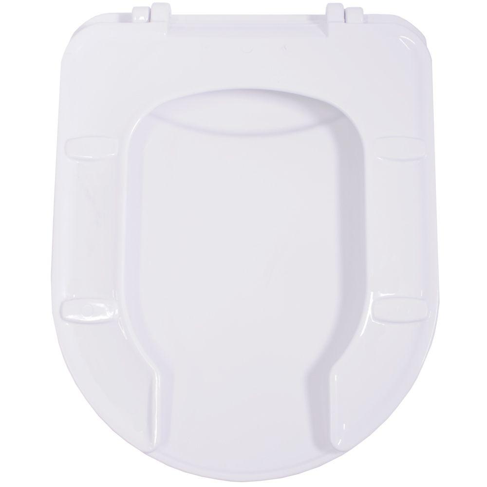 Assento em Polipropileno para as Louças Vogue Conforto Branco  - Comercial Tuan Materiais para Construção