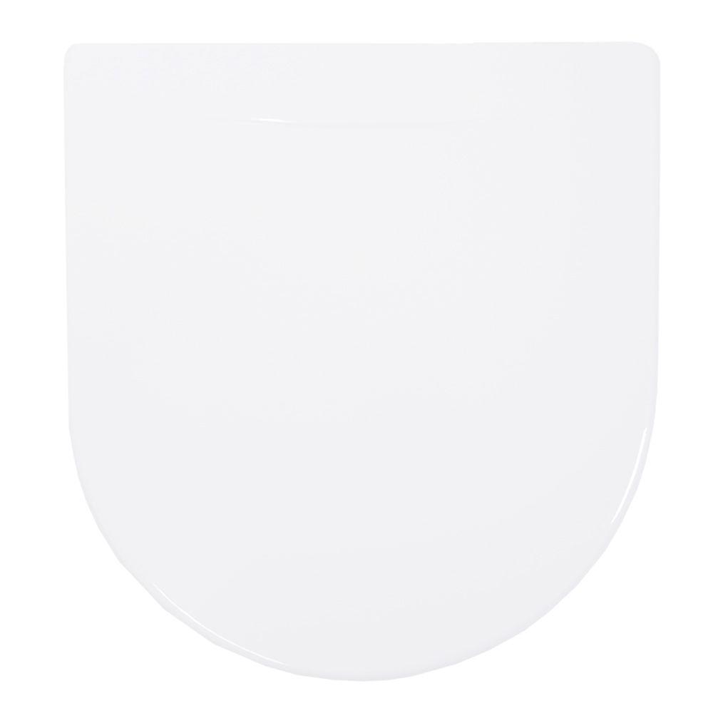 Assento em Polipropileno para Louça Calypso Branca  - Comercial Tuan Materiais para Construção