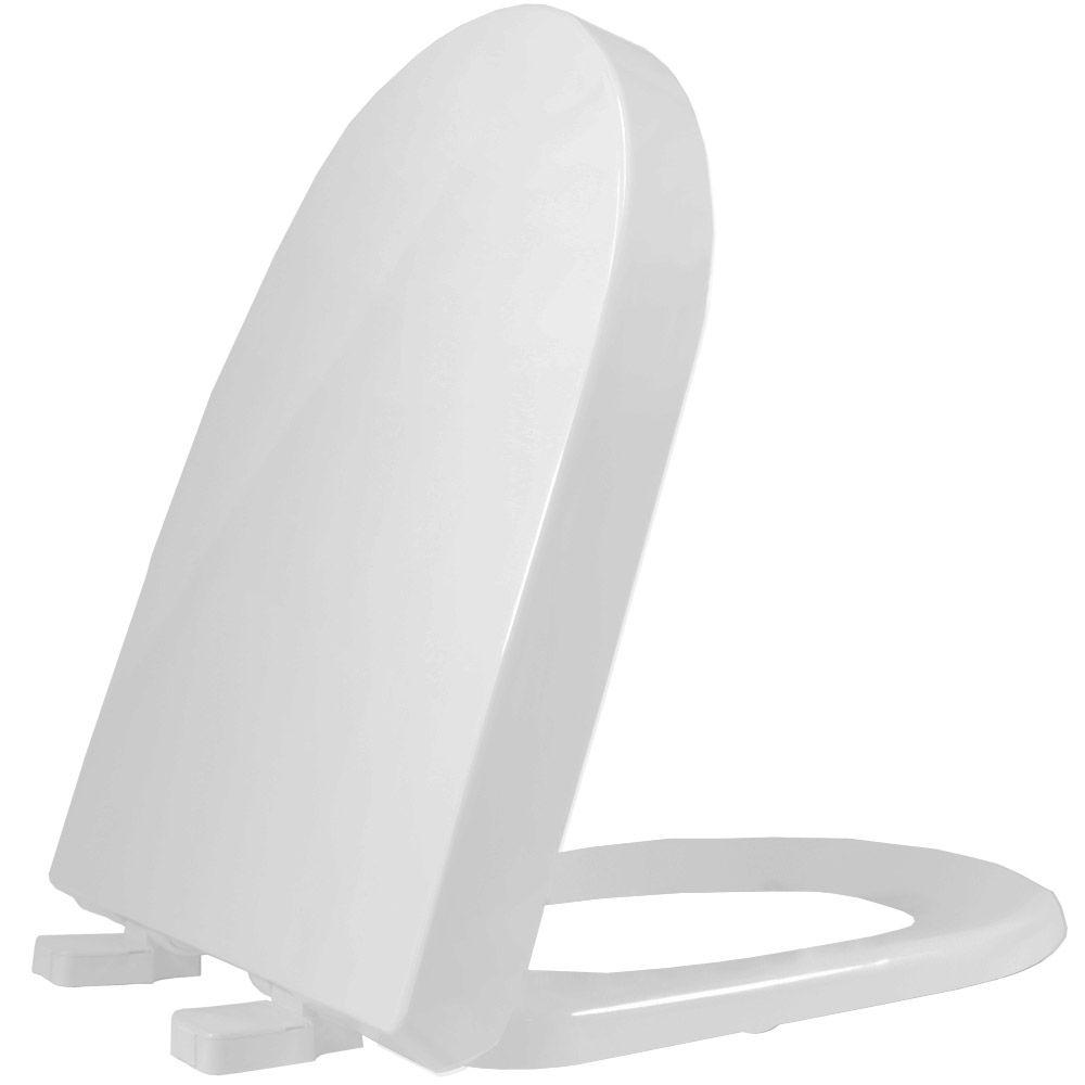 Assento em Resina Termofixa para as Louças Carrara/ Link/ Vesuvio Cinza Claro/Real- Adcn87 - Tupan  - Comercial Tuan Materiais para Construção