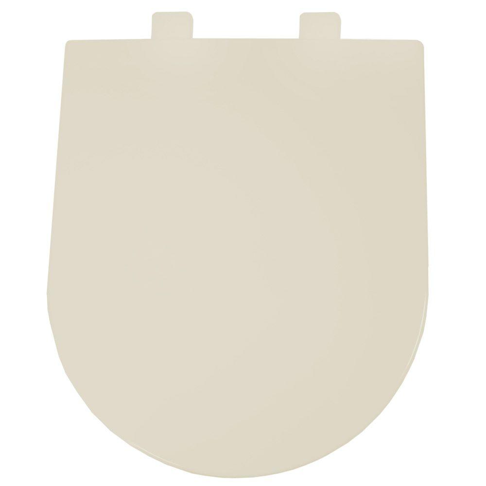 Assento em Resina Termofixa para as Louças Carrara/ Link/ Vesuvio Soft Close Palha  - Comercial Tuan Materiais para Construção