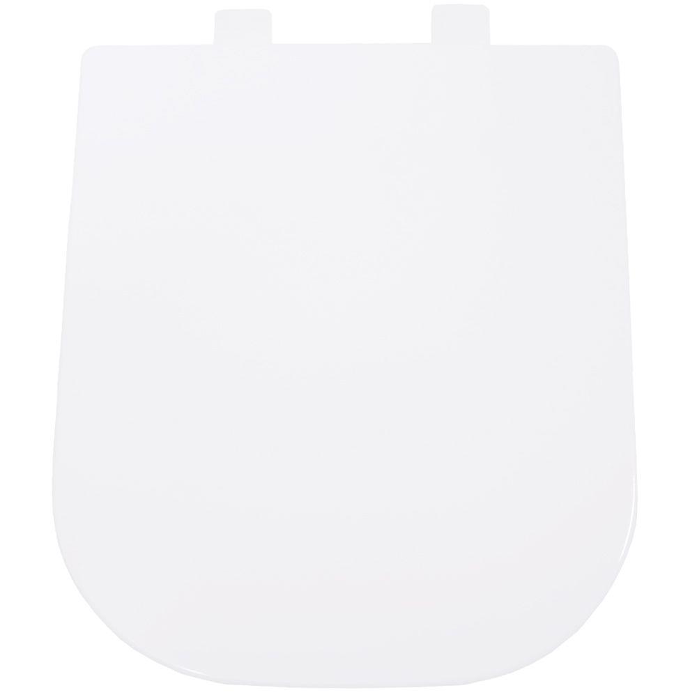 Assento em Resina Termofixa para as Louças Debba/Gap/Quadra/Polo/Unic Branca Soft Close  - Comercial Tuan Materiais para Construção