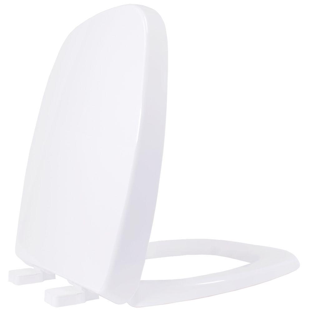 Assento em Resina Termofixa para as Louças Fit/Versato/Savary Branco  Soft Close  - Comercial Tuan Materiais para Construção