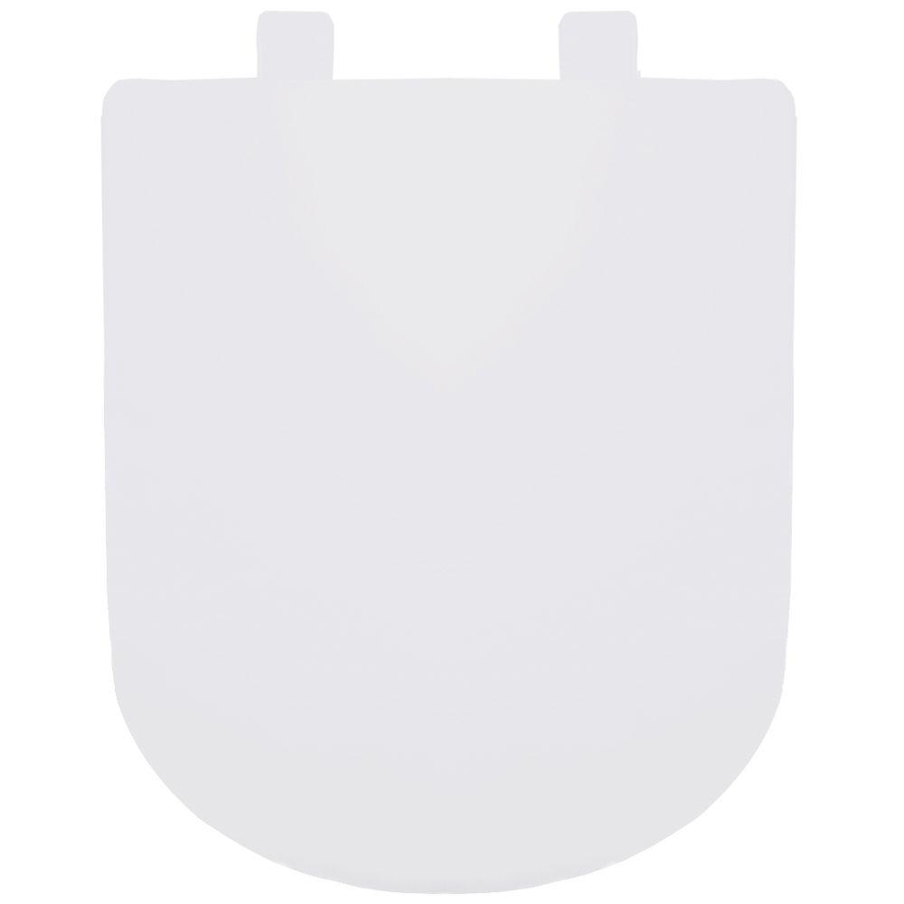 Assento em Resina Termofixa para as Louças Vogue Plus/ Life/ Flox/ Square Soft Close Branco  - Comercial Tuan Materiais para Construção