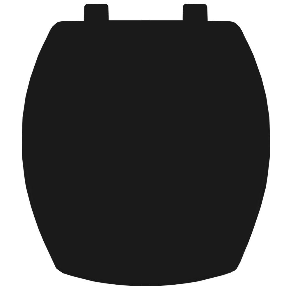 Assento em Resina Termofixa para Louça Thema Preto  - Comercial Tuan Materiais para Construção