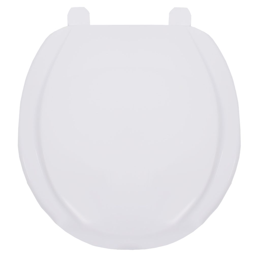Assento Oval em Polipropileno Exportação Plus Branco  - Comercial Tuan Materiais para Construção