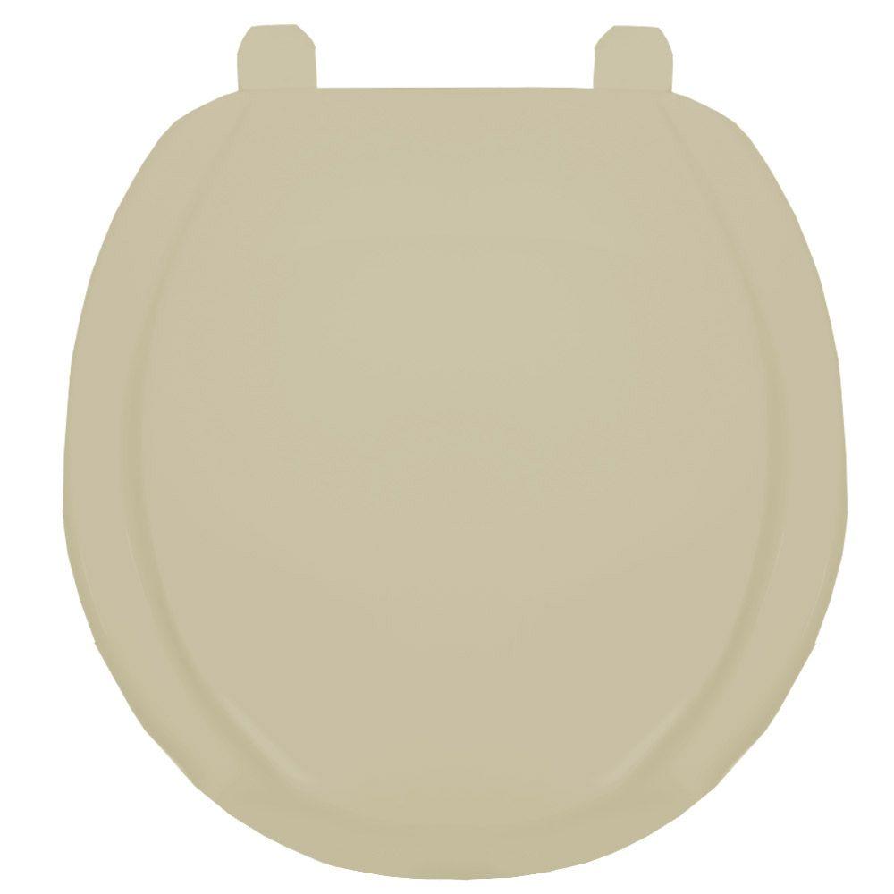 Assento Oval em Polipropileno Exportação Plus Creme  - Comercial Tuan Materiais para Construção