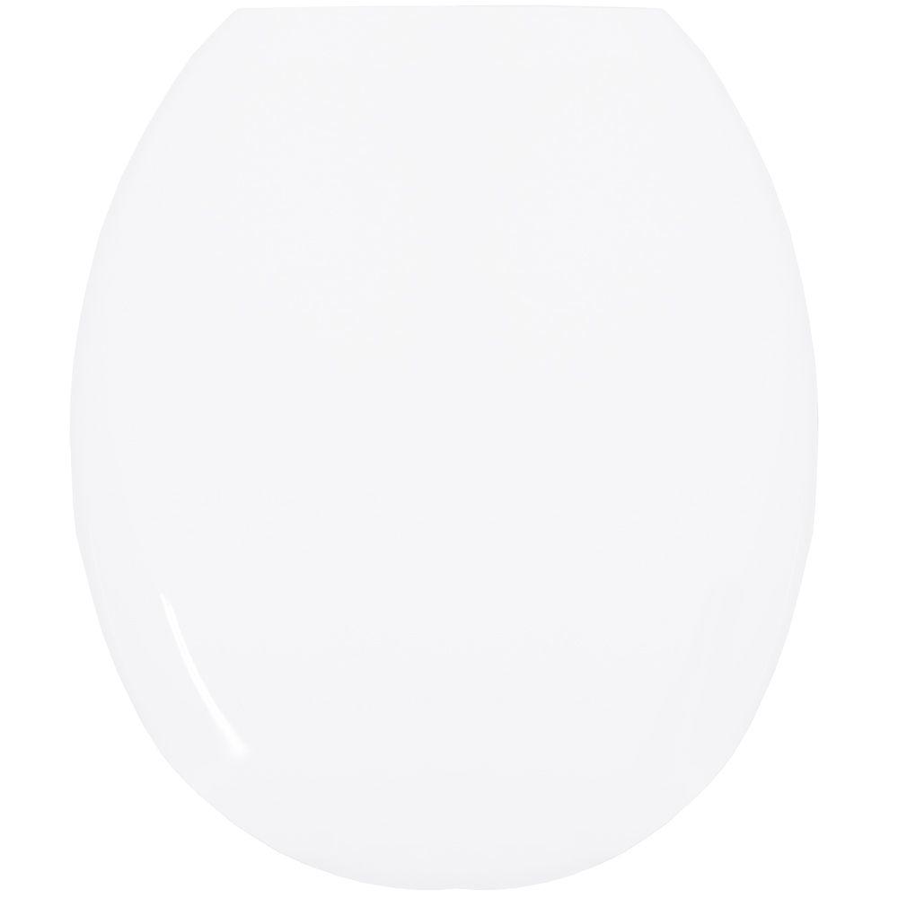 Assento Oval em Polipropileno Infantil Branco  - Comercial Tuan Materiais para Construção