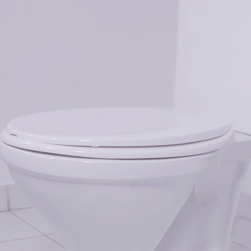 Assento Oval Em Polipropileno Prime Branco Incepa/Celite  - Comercial Tuan Materiais para Construção