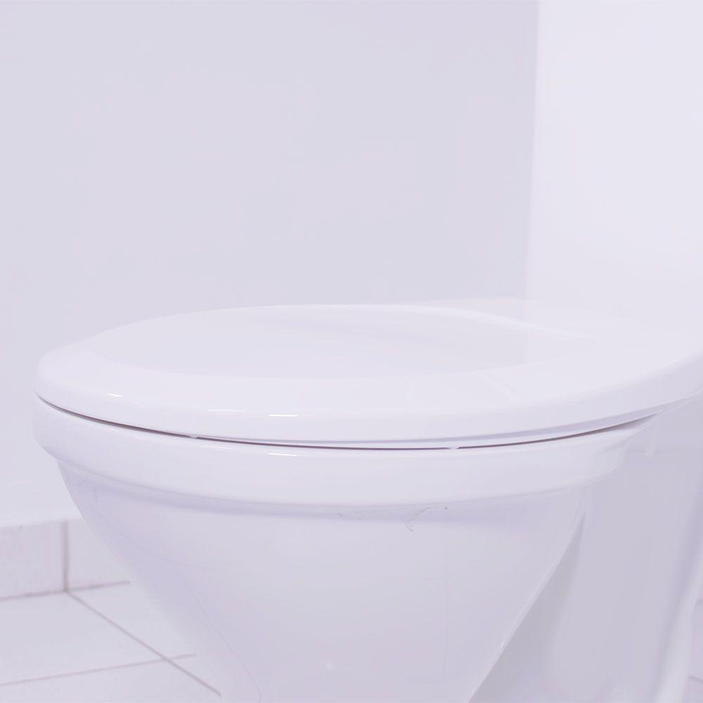 Assento Oval Premium Branco  - Comercial Tuan Materiais para Construção