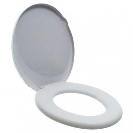 Assento Sanitário Branco Almofadado Suavit Tigre  - Comercial Tuan Materiais para Construção
