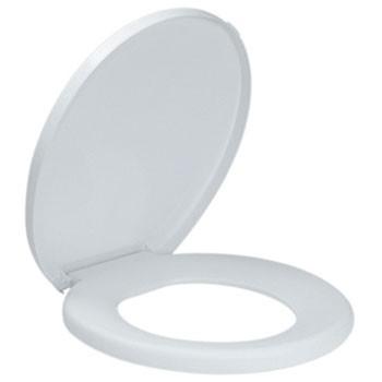 Assento Sanitário Branco Premium Amanco  - Comercial Tuan Materiais para Construção