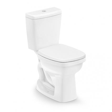 Vaso Sanitário com Caixa acoplada 3/6 litros Like Branco Celite  - Comercial Tuan Materiais para Construção