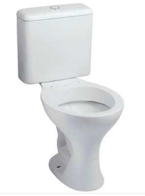 Bacia Branca com Caixa Acoplada Saveiro 3/6 litros Celite  - Comercial Tuan Materiais para Construção