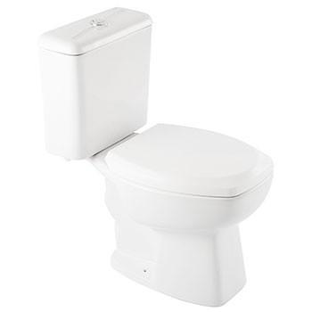 Bacia com Caixa Acoplada Thema Plus Branca Incepa  - Comercial Tuan Materiais para Construção