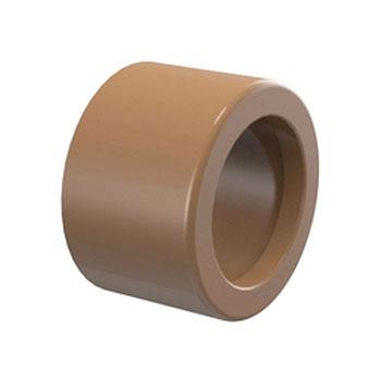 Bucha de Redução Curta Marrom PVC Soldável Tigre  - Comercial Tuan Materiais para Construção