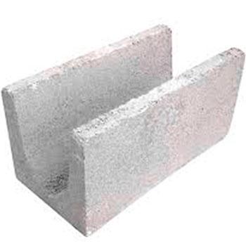 Canaleta de Bloco 10x20x40cm Manfredini  - Comercial Tuan Materiais para Construção