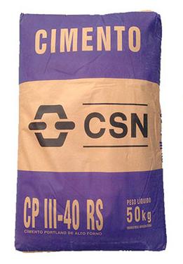 Cimento CPIII 40 CSN  - Comercial Tuan Materiais para Construção