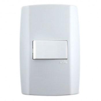 Conjunto 1 Interruptor Simples 4x2 80173 Ilumi  - Comercial Tuan Materiais para Construção